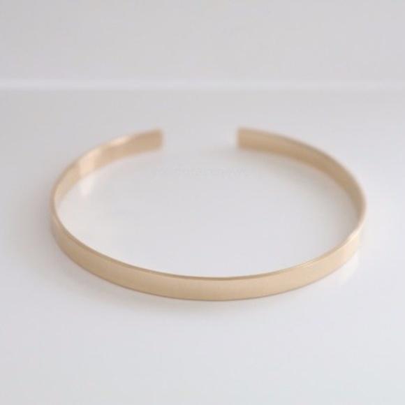 Jewelry - 14K Gold Filled Engraved Cuff Bracelet